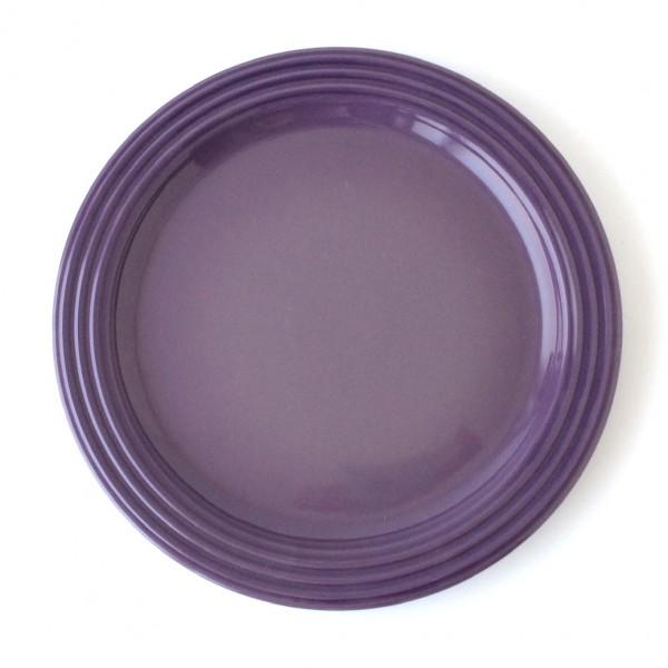Teller Speieteller ø 27 cm violett Steinzeug