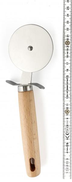 Pizzaschneider mit Holzgriff L 21 cm