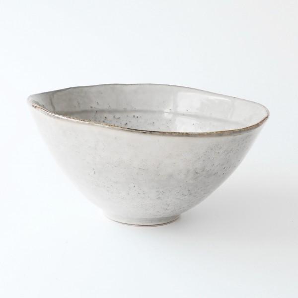 Schale groß grey dune H 12 cm ø 23,5 cm Steingut