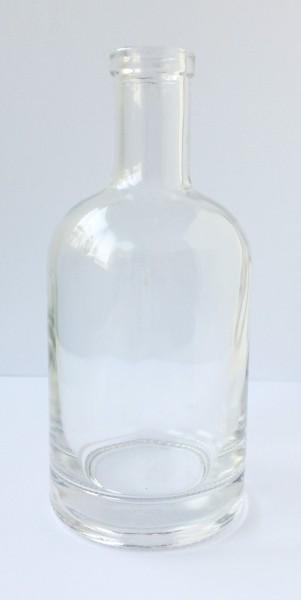 Glasflasche Flasche H 15 cm