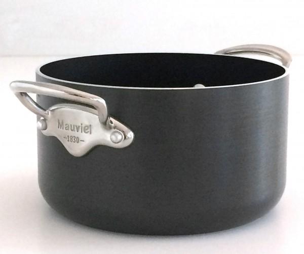 Topf schwarz antihaft Aluminium gebürstet matt ø ca. 18 cm