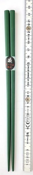 Stäbchen L 22,5 cm 1 Paar grün