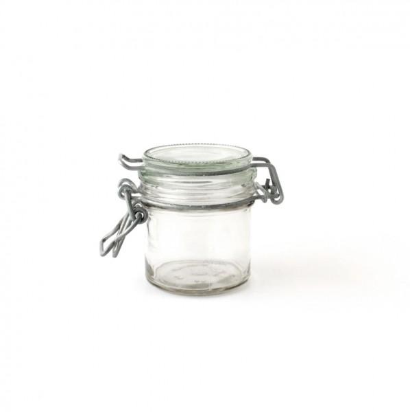 Bügelglas Marmeladenglas Einweckglas, H 7,5 cm