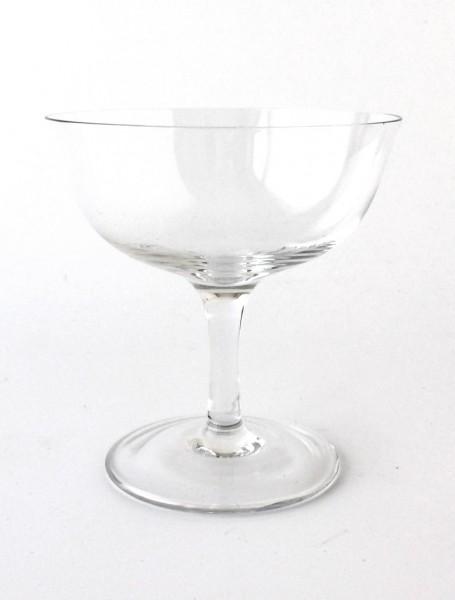 Champagnerschale Glas klar H 11 cm ø 10,5 cm