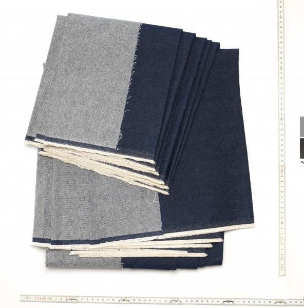 Stoff Tischdecke Jeans Denim dunkelblau 10 oz, 3 Meter groß