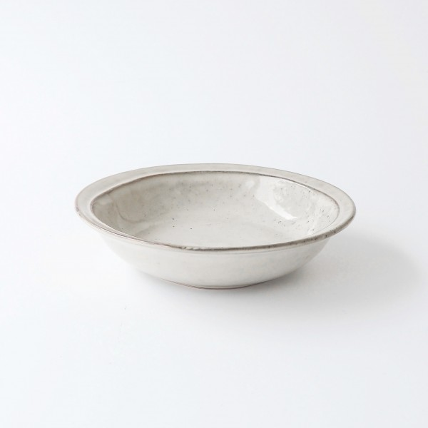 Suppenteller ø19 cm dune grey Steingut