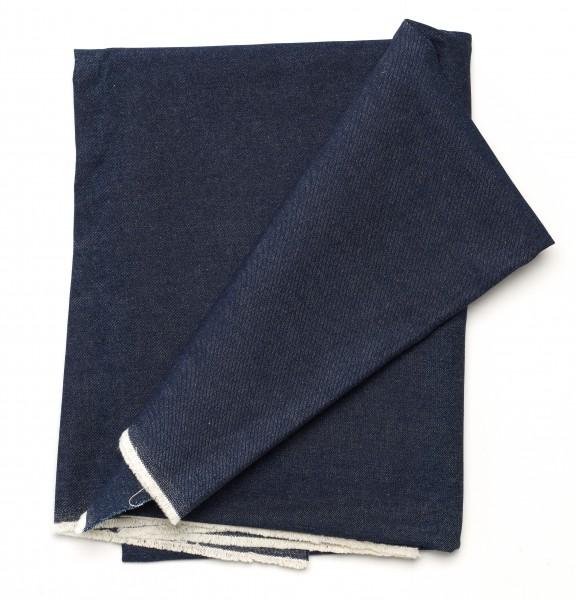 Stoff Tischdecke Jeans Denim dunkelblau 10 oz