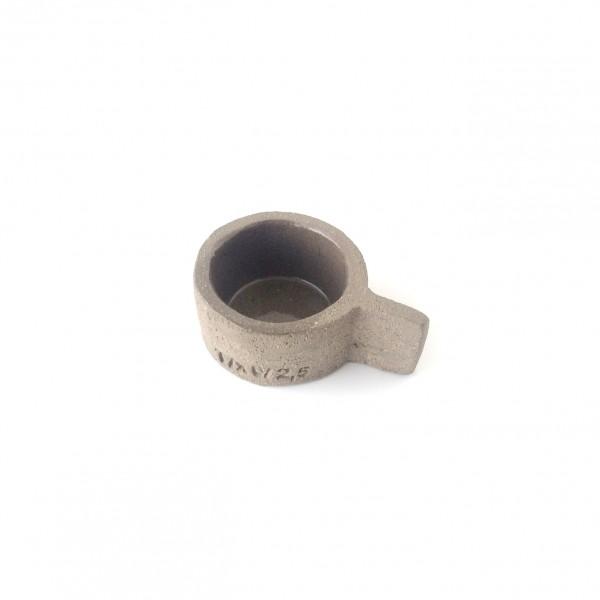 Schale Espressotasse klein ø 6 cm grau Beton Zement FCK