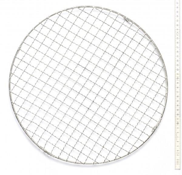 Kuchengitter Metall silber, alt, ø 35 cm