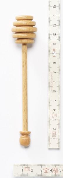 Honiglöffel, Holz Buche, Stiel aus einem Stück mit Kugel, 14 cm