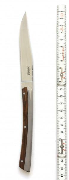 Steakmesser, Griff: Holz, Klingenlänge 10 cm