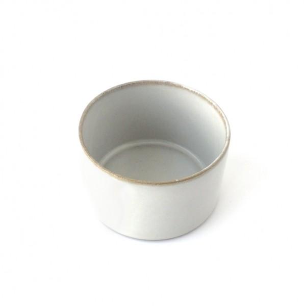 kleine Schale ø 7,5 cm hellgrau weiß glänzend rund 16 cl
