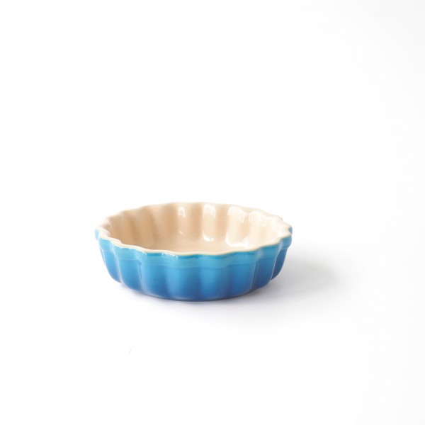 Tartelette Form blau marseille ø 12,5 cm H 3,5 cm Innenmaß 11 cm 0,2 L