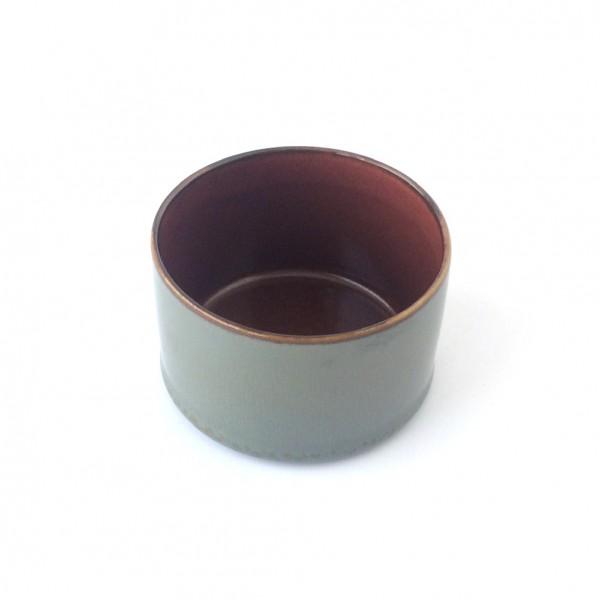 kleine Schale ø 7,5 cm grau rotrost d glänzend rund 16 cl