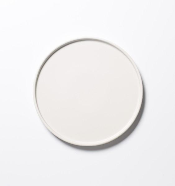kleiner Teller Frühstücksteller weiß ø 21 cm matt