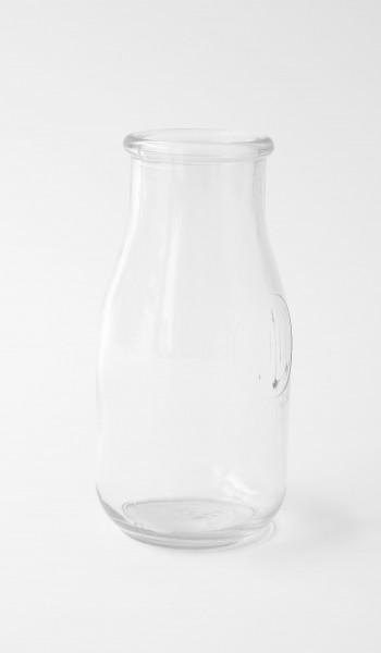 Flasche Glas H 16 cm ø 6 cm