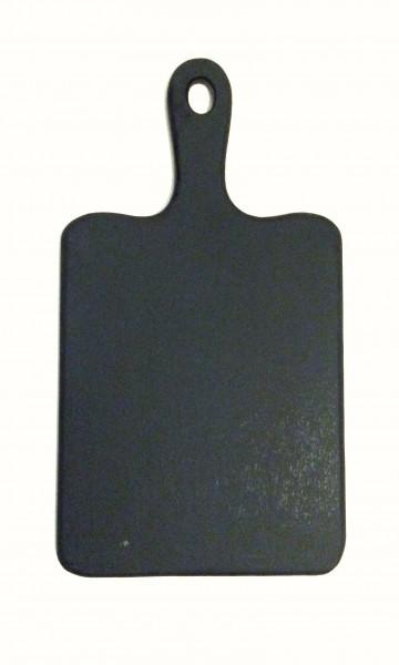 Tafel, Schneidebrett mit Tafellack, schwarz,