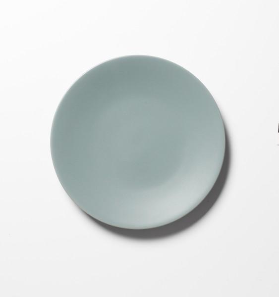 Frühstücksteller grün türkis ø 21 cm matt
