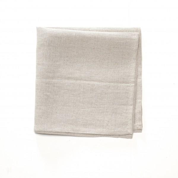 Serviette Leinen beige 50 x 50 cm