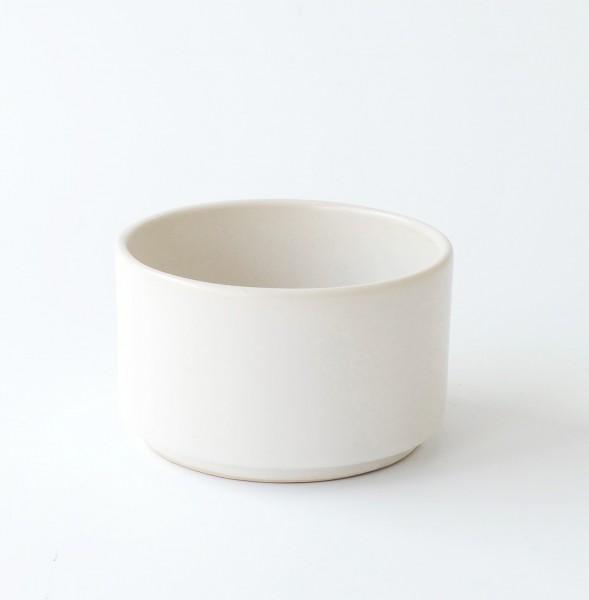 Tasse ohne Henkel weiß matt H 6 cm ø 9,5 cm