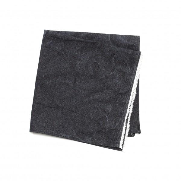 Platzdeckchen Serviette Jeans Denim schwarz