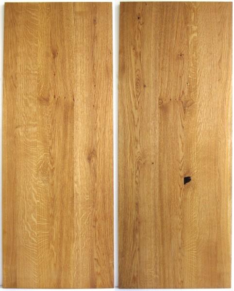 L 120 cm x B 45 cm Untergrund, Holz Eiche natur geölt