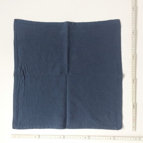 Serviette dunkelblau 45 x 45 cm