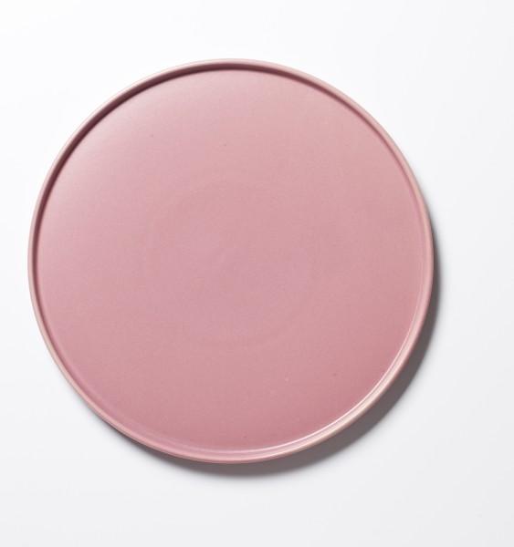 Essteller rosa altroasa ø 26,5 cm matt