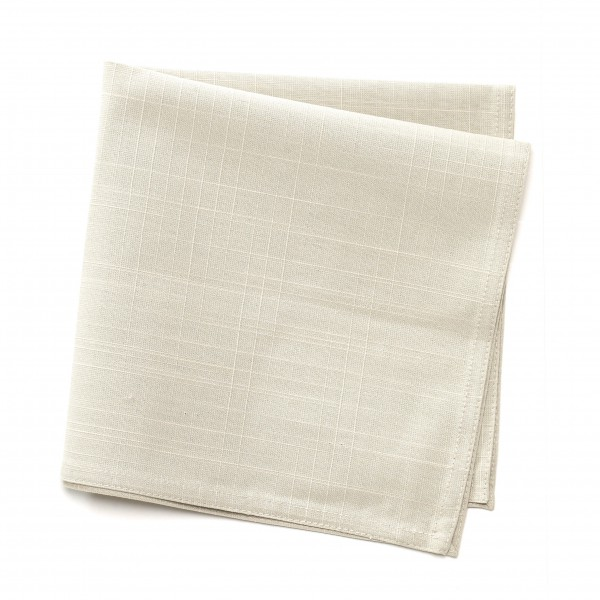 Serviette Baumwolle ocker dunkel beige, 46 x 46 cm