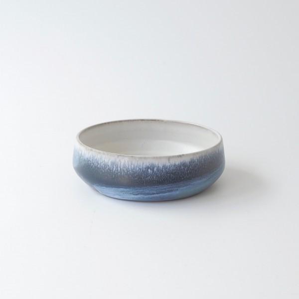 Müslischale blau weiß H 5 cm ø 14 cm