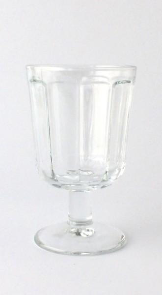 Weissweinglas H 12 cm ø 7,5 cm transparent