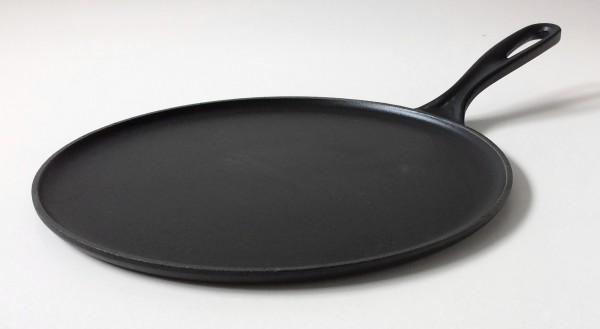Bratpfanne, Crepepfanne, Gusseisen, schwarz, ø ca. 26 cm