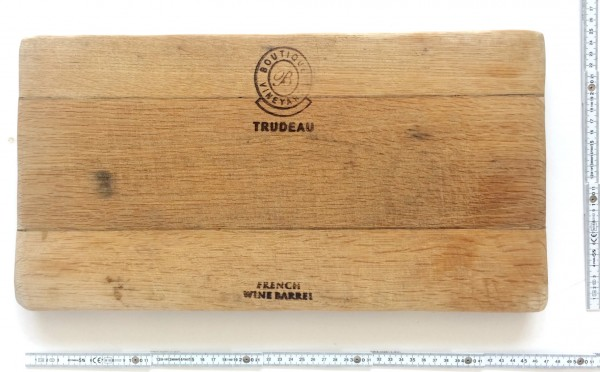 Schneidebrett Holz L 44,5 x B 23 x H 4 cm Trudeau
