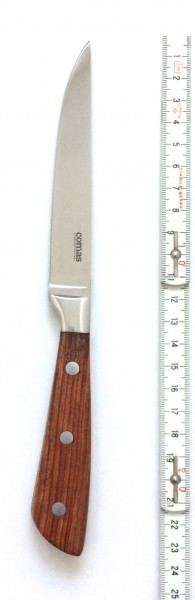 Steakmesser, Griff: Holz, Klingenlänge 12 cm