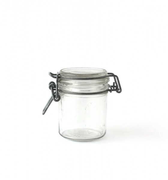 Bügelglas Marmeladenglas Einweckglas, H 8,5 cm