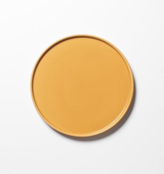 kleiner Teller Frühstücksteller curry ø 21 cm matt